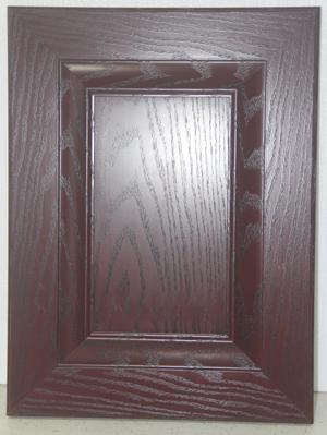 铭厨橱柜-不锈钢门板  MC11-35红橡木纹